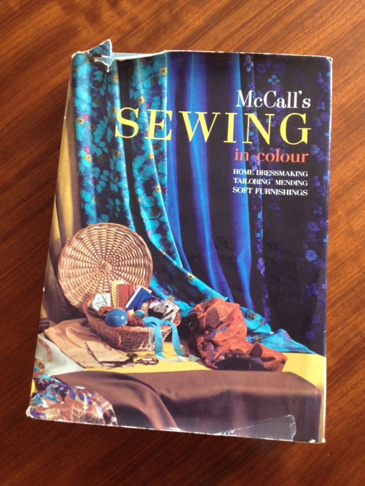 A copy of a McCalls sewing manual.