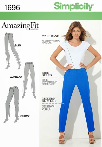 Simplicity Amazing Fit 1696