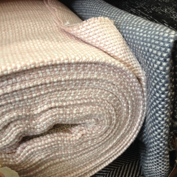 I very nearly came home with some of this gorgeous textured wool – perfect for a new coat, don't you think?